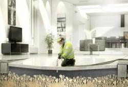 Nivelación de pisos de losa hundidos