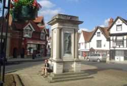 Monumento a la Guerra en Abingdon